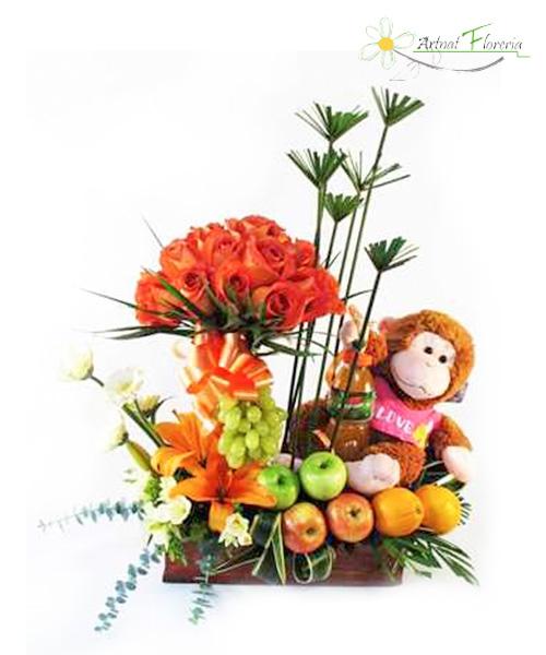 Frutas Y Flores Artnat Floreria Floreria En Los Olivos